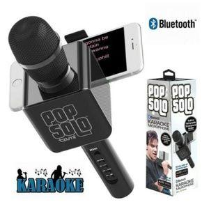KARAOKE Microphone TZUMI POP SOLO Bluetooth New